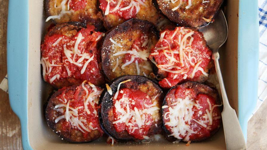 Easy eggplant parmesan recipe genius kitchen 14 view more photos save recipe forumfinder Choice Image