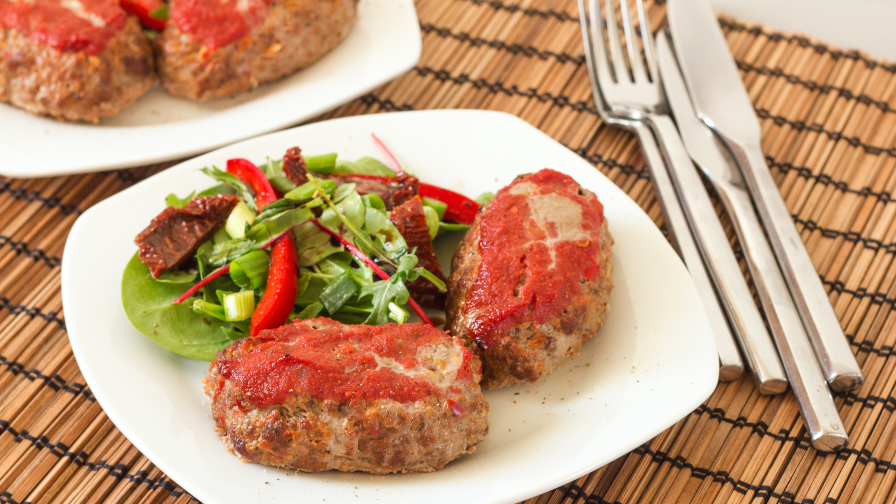 Awesome and healthy meatloaf recipe genius kitchen 3 view more photos save recipe forumfinder Gallery