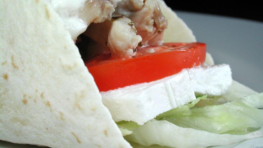 recipe: greek chicken souvlaki wrap recipe [25]
