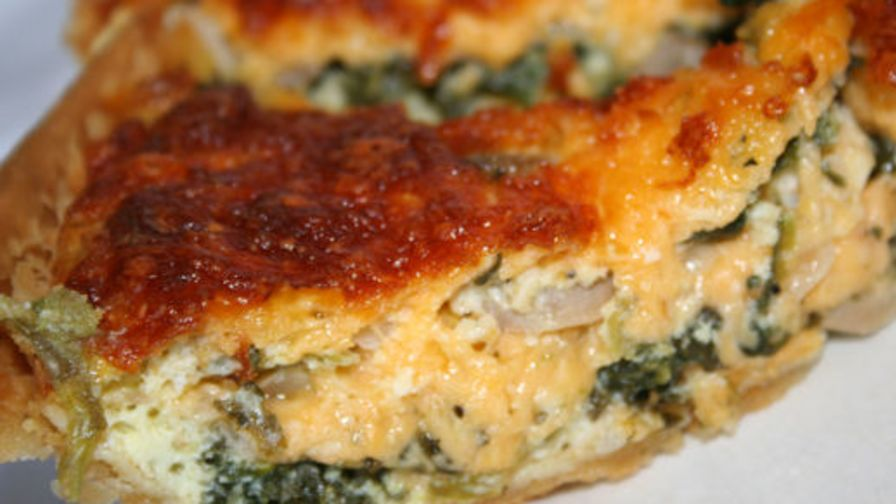 Spinach and feta quiche recipe genius kitchen 2 view more photos forumfinder Images