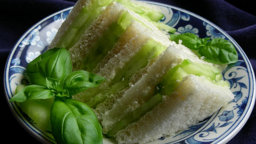 Garden party cucumber sandwich recipe genius kitchen 15 view more photos save recipe forumfinder Image collections