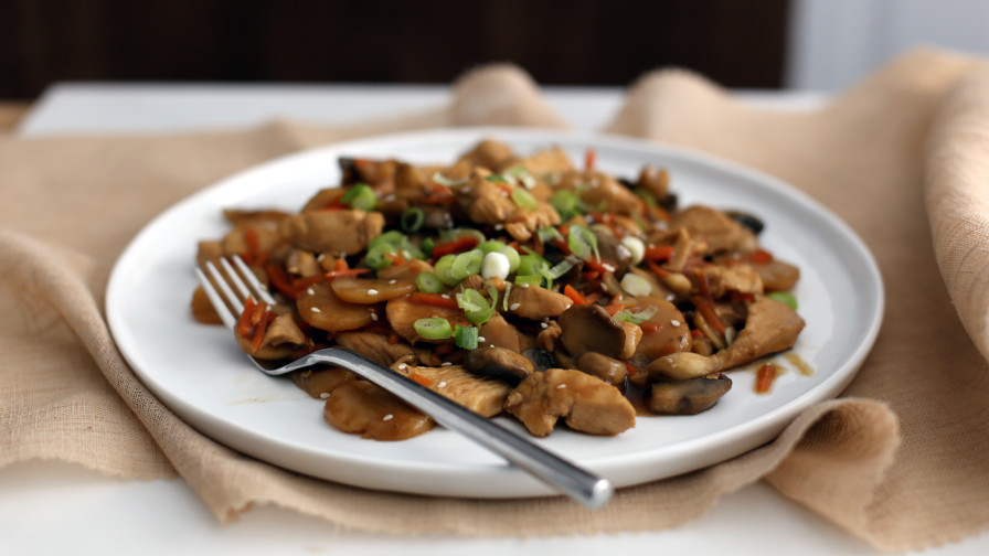 Teriyaki chicken stir fry recipe genius kitchen 5 view more photos save recipe forumfinder Image collections