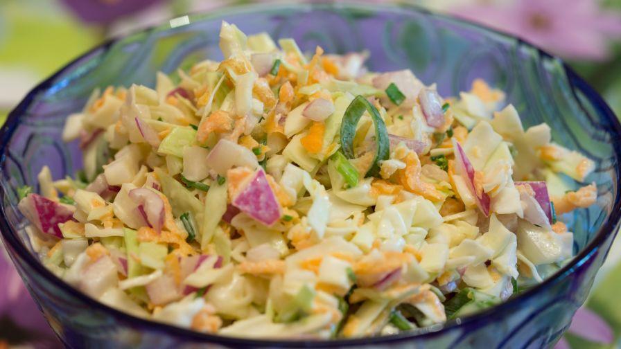 Wasabi coleslaw recipe genius kitchen 2 view more photos forumfinder Choice Image