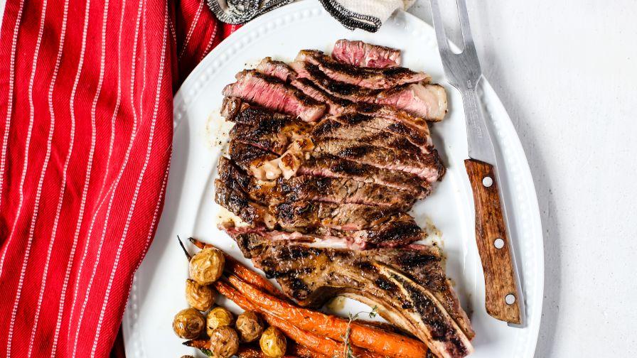 Perfect medium rare prime rib roast recipe genius kitchen 6 view more photos save recipe forumfinder Image collections