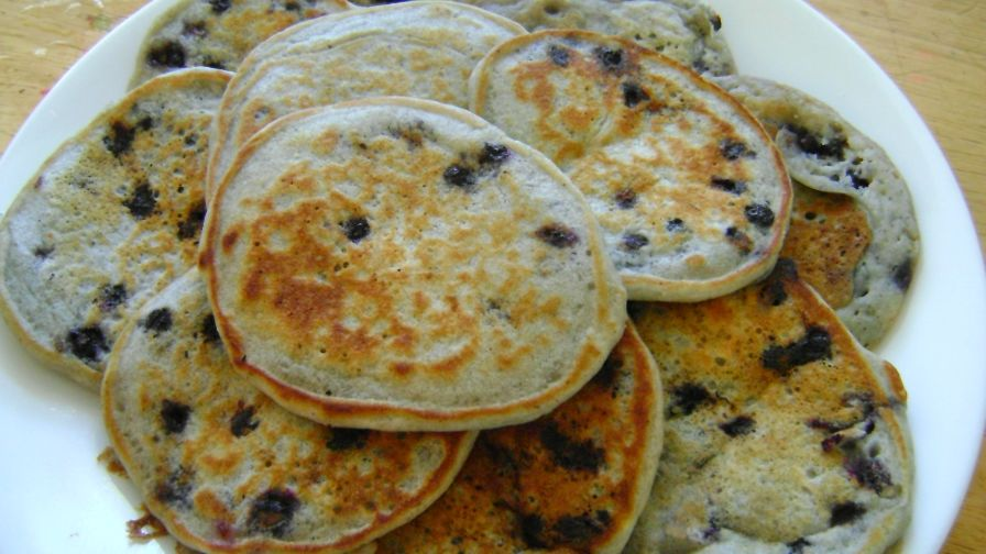 Fluffy eggless pancakes recipe genius kitchen 3 view more photos save recipe forumfinder Choice Image