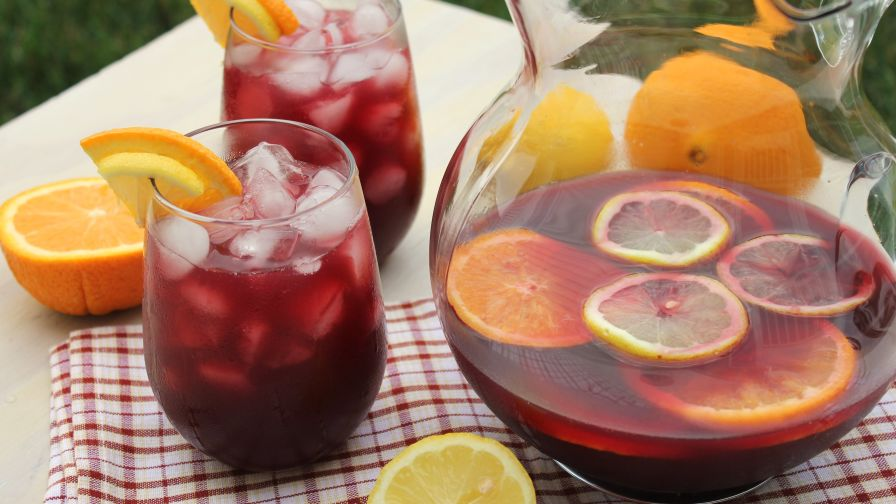 Sangria recipe genius kitchen 5 view more photos thecheapjerseys Image collections