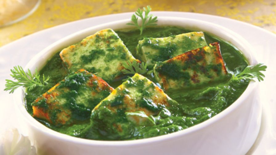 Palak paneer indian fresh spinach with paneer cheese recipe 6 view more photos save recipe forumfinder Gallery