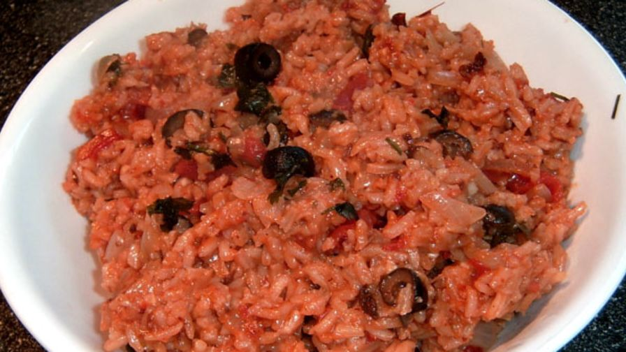 Chipotle spanish rice recipe genius kitchen 1 view more photos save recipe forumfinder Gallery