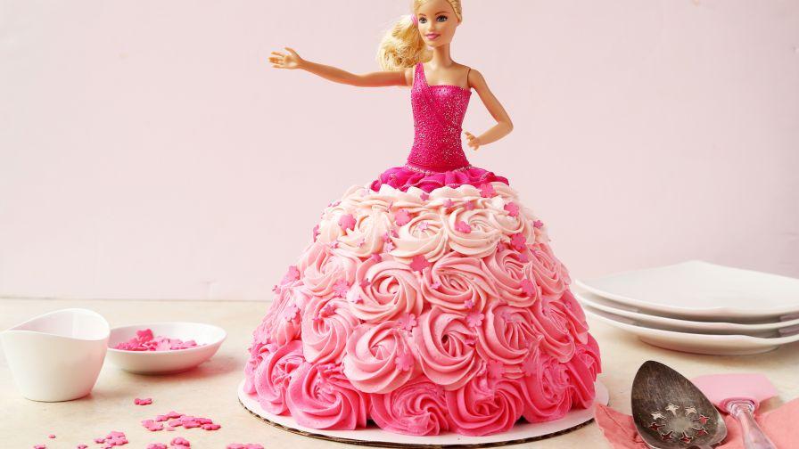 barbie birthday cake recipe genius kitchen - Barbie