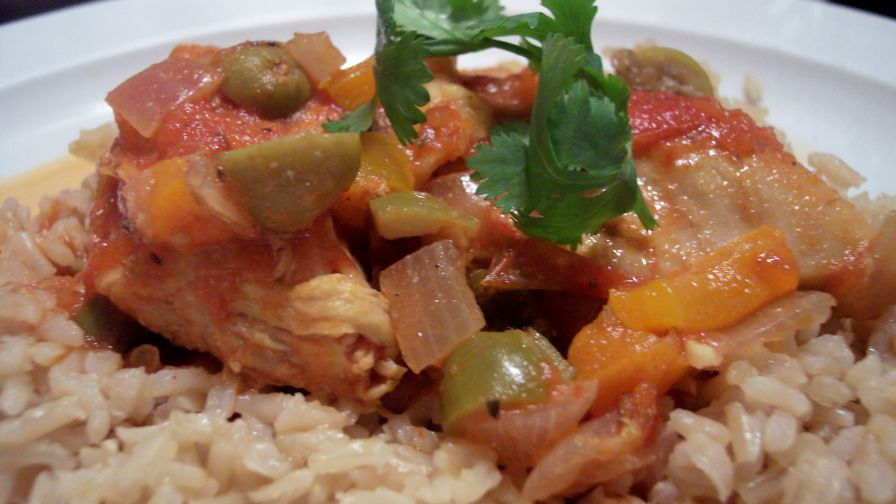 Dominican pollo guisado stewed chicken recipe genius kitchen 2 view more photos save recipe forumfinder Choice Image