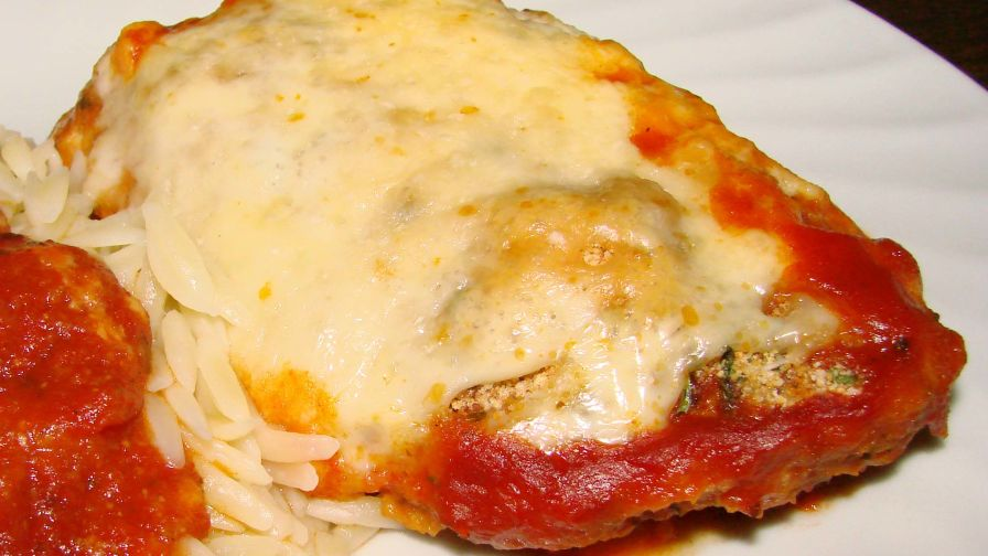 Simply baked chicken parmesan recipe genius kitchen 2 view more photos save recipe forumfinder Images