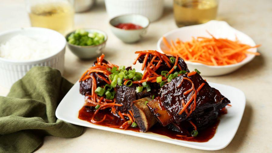 Korean style short ribs crock pot recipe genius kitchen 13 view more photos forumfinder Image collections