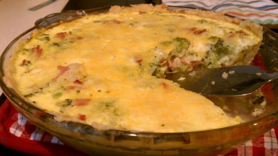 Broccoli quiche recipe genius kitchen 8 view more photos save recipe forumfinder Images
