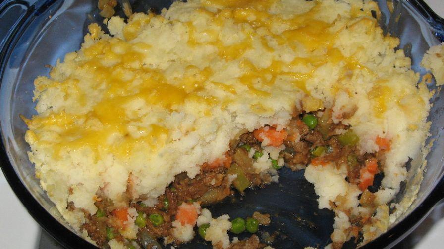 Vegetarian shepherds pie recipe genius kitchen 1 view more photos save recipe forumfinder Images