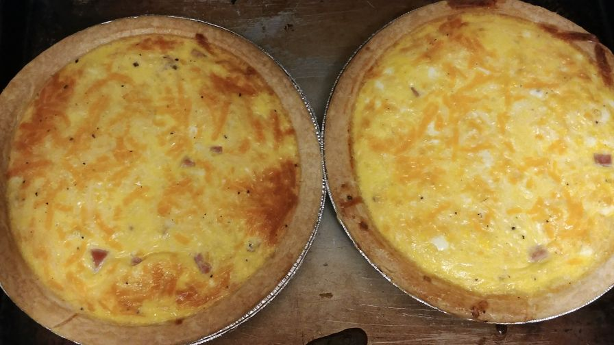 Ham and cheese quiche recipe genius kitchen 8 view more photos save recipe forumfinder