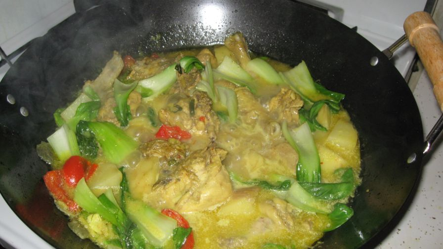 Chicken curry ala pinoy recipe genius kitchen 1 view more photos save recipe forumfinder Gallery