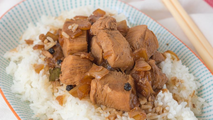 Filipino adobo pork or chicken with slow cooker variation recipe 13 view more photos save recipe forumfinder