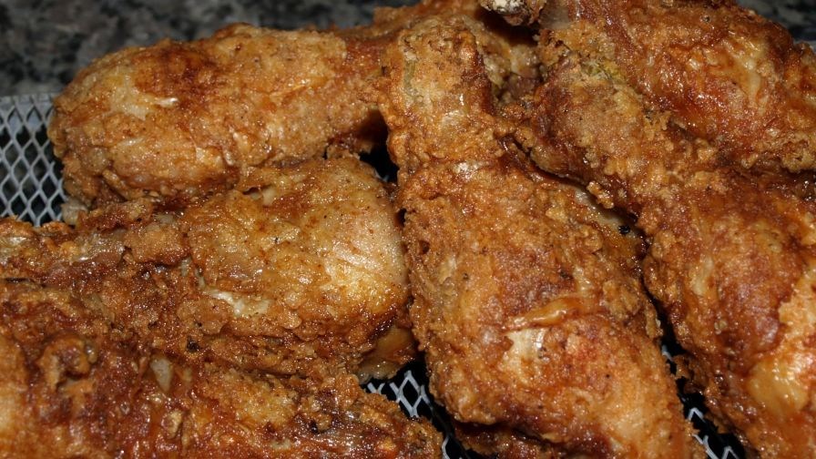 how long to deep fry chicken legs