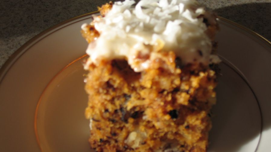 Baby food pineapple coconut carrot cake recipe genius kitchen 4 view more photos save recipe forumfinder Images