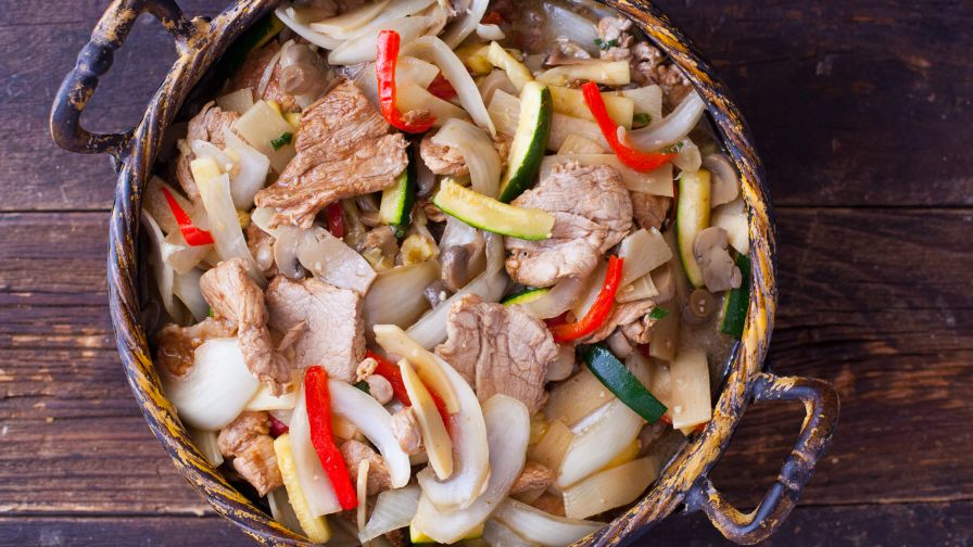 Authentic pork lo mein chinese recipe genius kitchen 6 view more photos save recipe forumfinder Choice Image