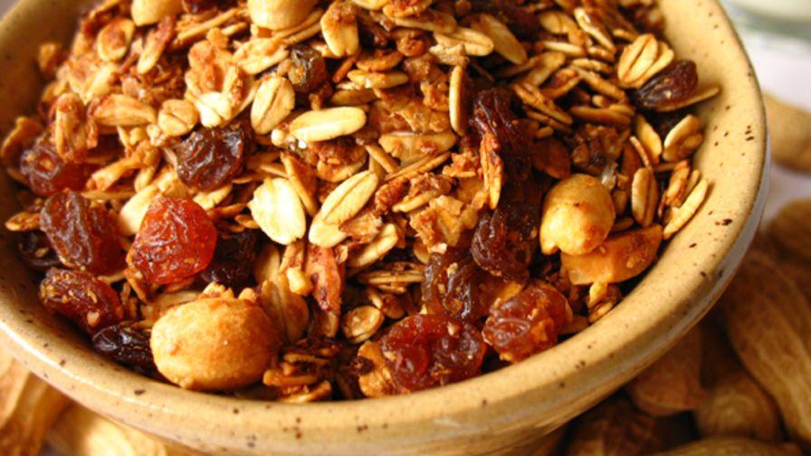Molasses peanut granola recipe genius kitchen 2 view more photos forumfinder Choice Image