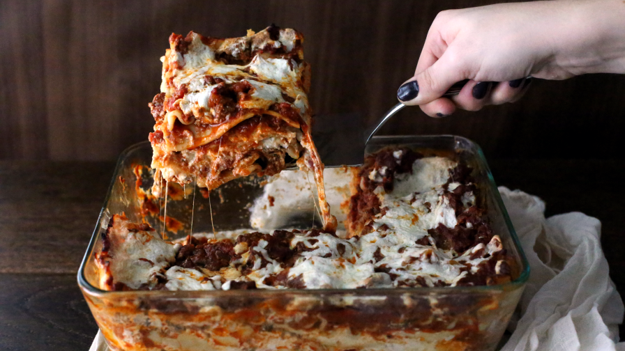 Absolute best ever lasagna recipe genius kitchen 80 view more photos save recipe forumfinder Choice Image