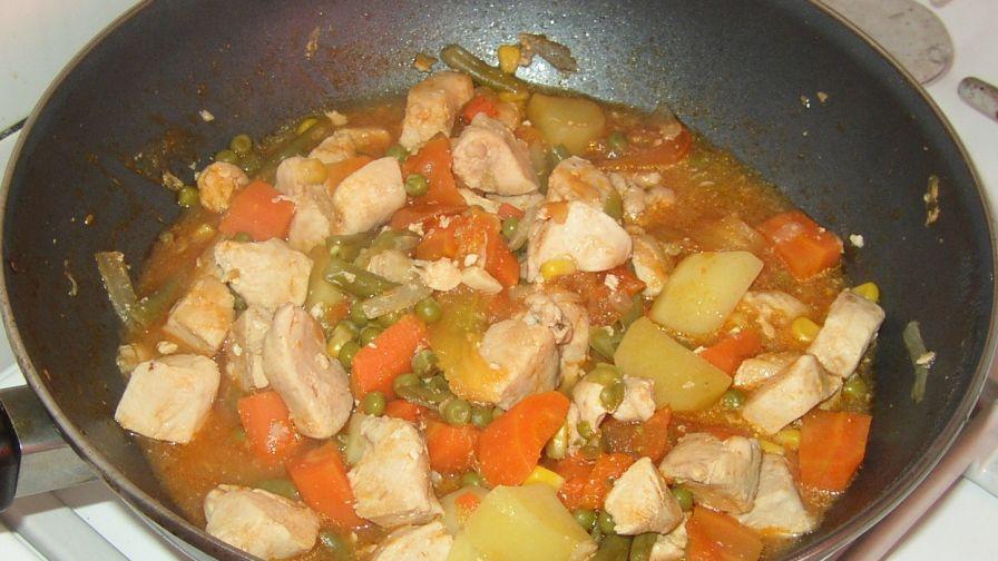 Filipino chicken afritada recipe genius kitchen 1 view more photos save recipe forumfinder Gallery