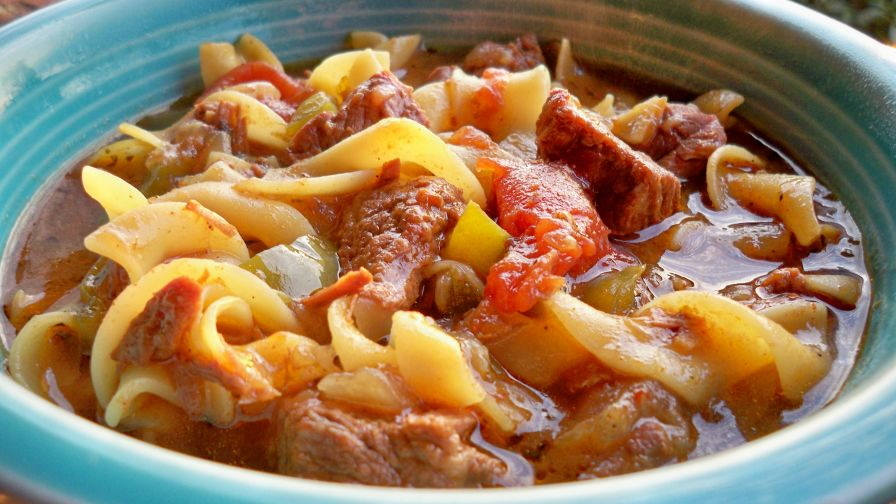 Hungarian beef goulash recipe genius kitchen 2 view more photos save recipe forumfinder Gallery