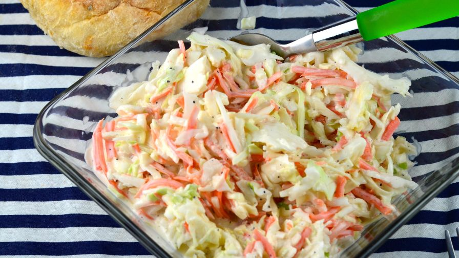 Easy cole slaw recipe genius kitchen 13 view more photos forumfinder Image collections