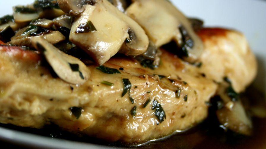 Skillet chicken marsala recipe genius kitchen 11 view more photos save recipe forumfinder Images