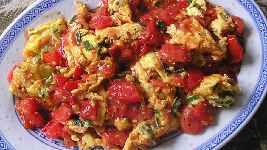 Egg with tomatoes chinese home style recipe chinesenius kitchen 1 view more photos save recipe forumfinder Images