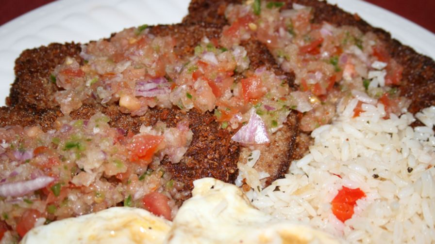 Silpancho traditional bolivian meal recipe genius kitchen 2 view more photos save recipe forumfinder