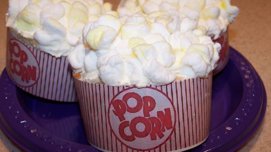 Popcorn cupcakes so cute recipe genius kitchen 8 view more photos save recipe forumfinder Choice Image