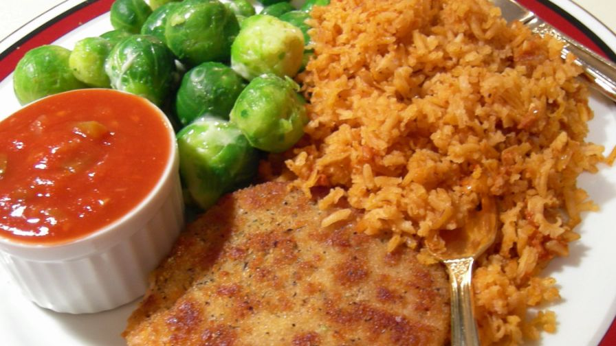 Easy authentic mexican rice recipe genius kitchen 2 view more photos save recipe forumfinder Gallery