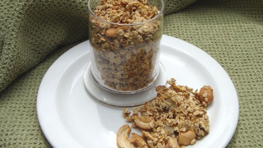 Crunchy granola recipe genius kitchen 7 view more photos save recipe forumfinder Choice Image