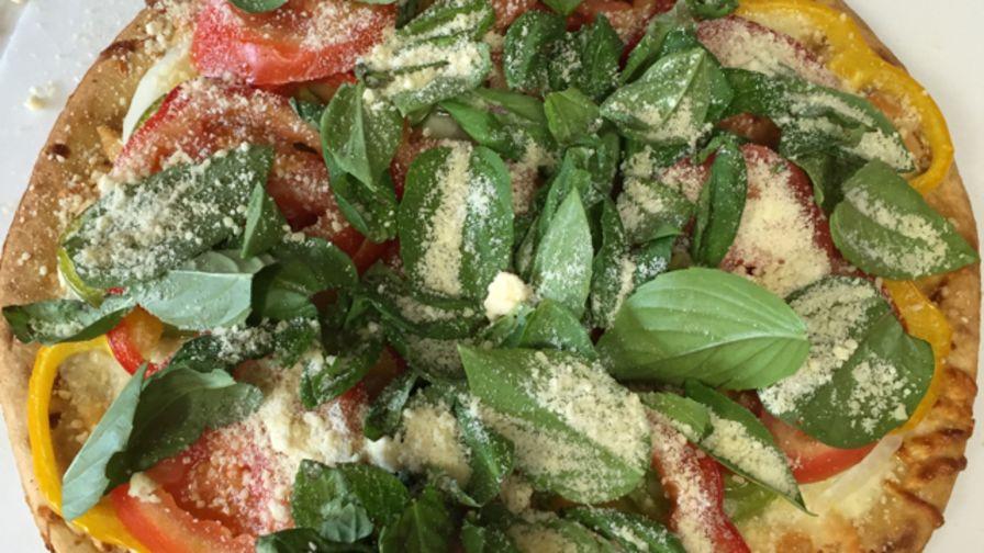 Margherita pizza recipe genius kitchen 9 view more photos save recipe forumfinder Gallery