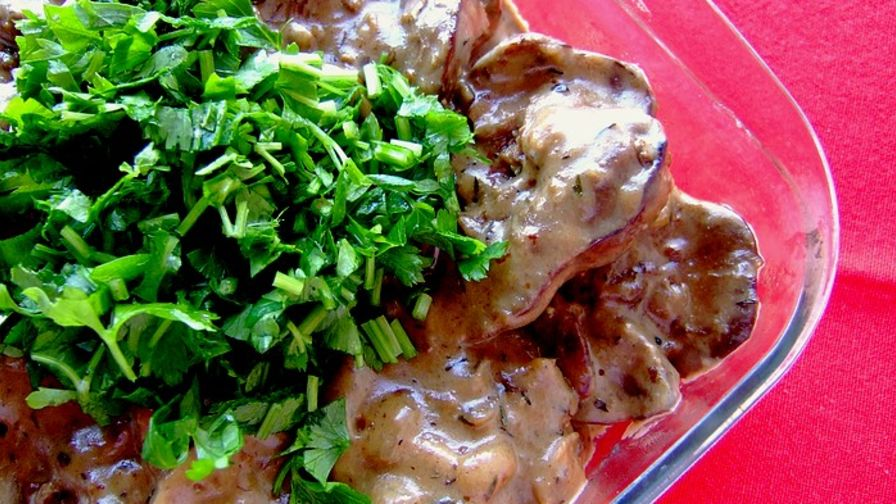 Chicken liver stroganoff recipe genius kitchen 2 view more photos save recipe forumfinder Image collections