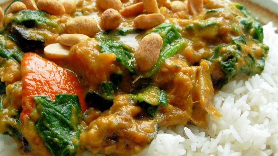 Spinach and pumpkin curry recipe indiannius kitchen forumfinder Images