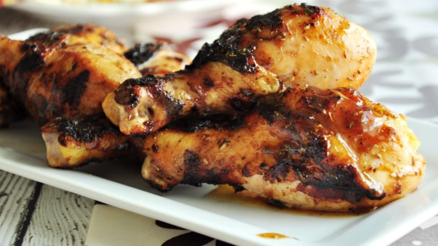 Simple caribbean jerk chicken recipe genius kitchen 17 view more photos save recipe forumfinder Images