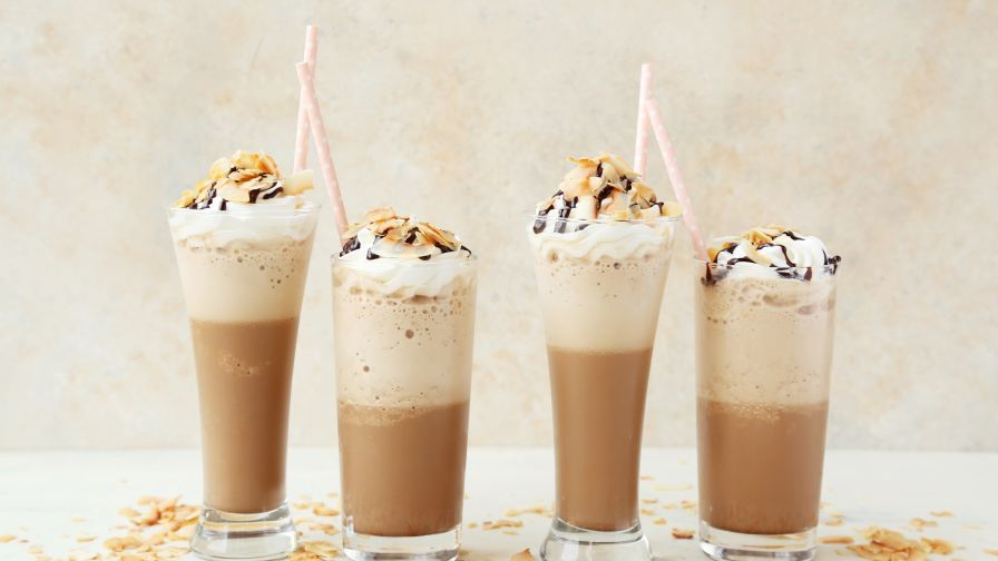 how to make iced frappe mocha