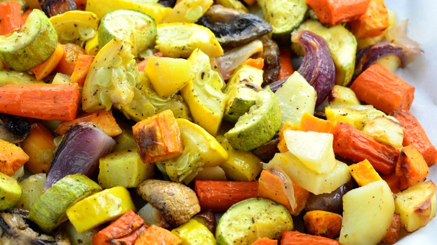 Oven roasted vegetables recipe genius kitchen forumfinder Images