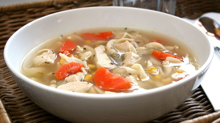 Lauras tickle your tastebuds chicken noodle soup recipe genius kitchen 3 view more photos save recipe forumfinder Choice Image