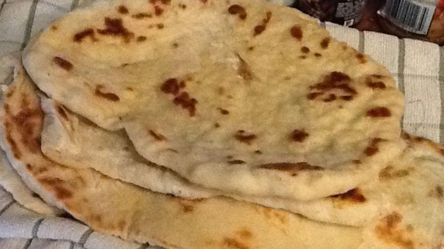 Super easy naan bread recipe genius kitchen 7 view more photos forumfinder Choice Image