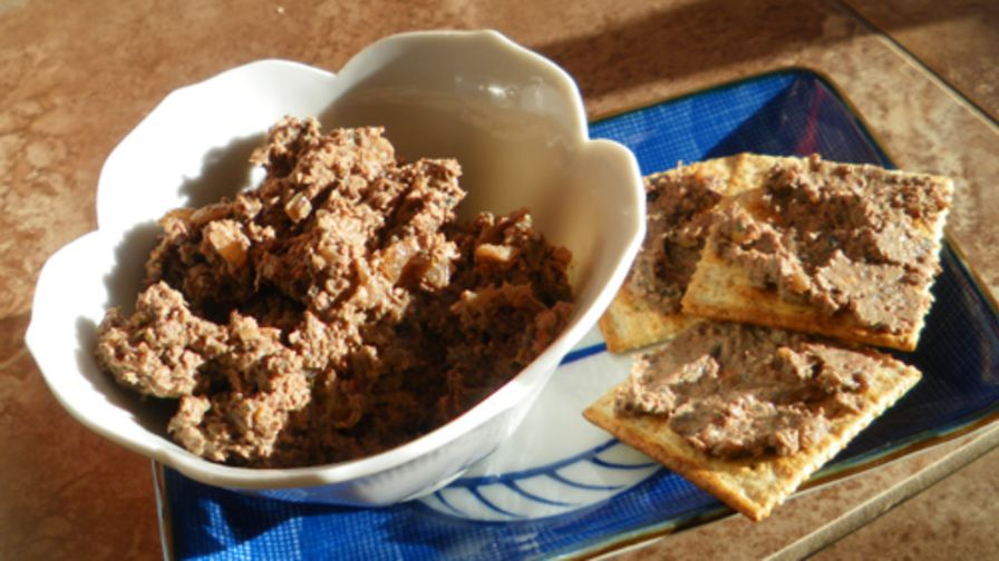 Quick and easy chicken liver pate recipe genius kitchen forumfinder Gallery