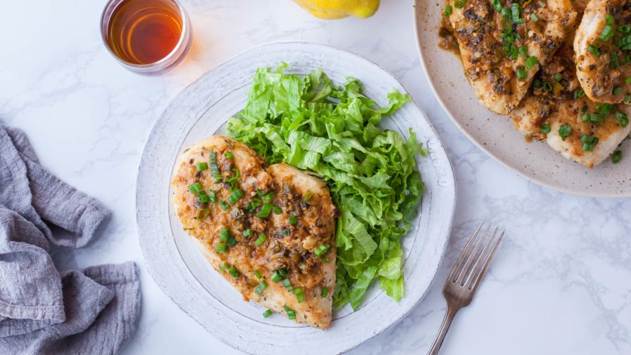 Olive Garden Pollo Limone Lemon Chicken) Recipe - Genius Kitchen