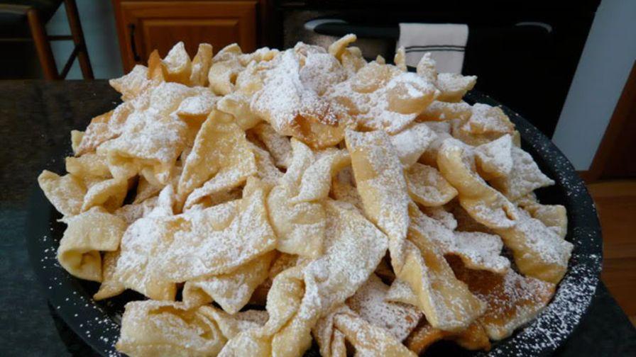 Polish angel wings chrusciki recipe genius kitchen 1 view more photos save recipe forumfinder Images
