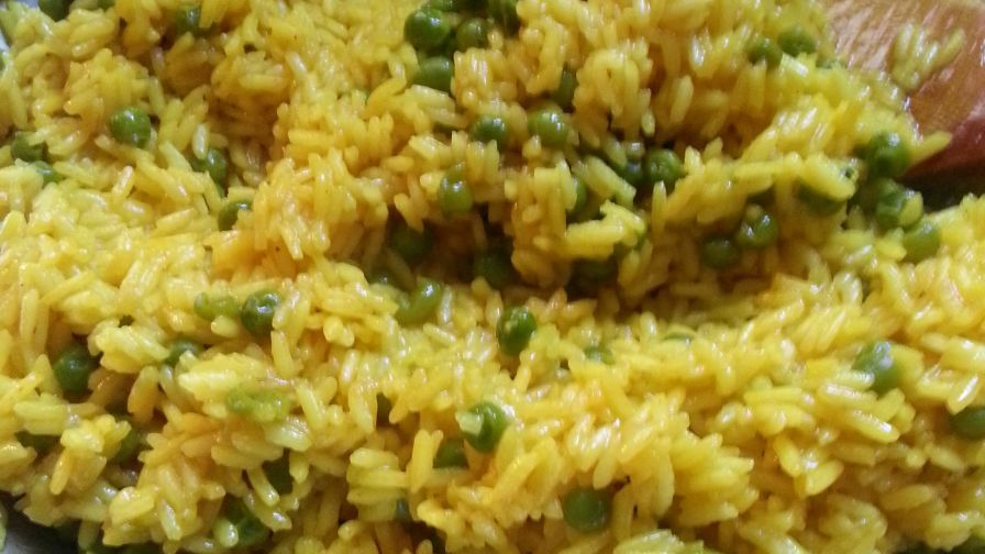 Easy spanish yellow rice recipe genius kitchen 2 view more photos save recipe forumfinder Gallery