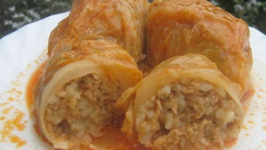 Sarma bosnian stuffed cabbage leaves recipe genius kitchen 1 view more photos forumfinder Images
