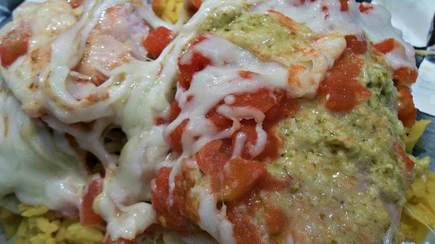 Pesto tilapia recipe genius kitchen forumfinder Images