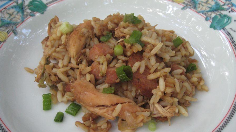 Brown cajun jambalaya recipe genius kitchen 5 view more photos forumfinder Choice Image